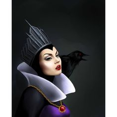 i really like Disneys Snow white queen, she is the best queen i have ever seen !~ NOTICE: ppl this character is SNOW WHITE QUEEN, not MALEFICENT! this is snow white queen : and this is maleficent: Walt Disney, Evil Disney, Disney Magic, Disney Pixar, Disney Tattoos, Disney Fan Art, Disney Love, Disney Villains, Disney Characters
