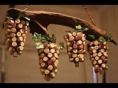 Cork Art Ideas Driftwood And Wine Cork Art Grape Vine Handmade By Cork Board Art Ideas – meizhi. Wine Craft, Wine Cork Crafts, Wine Bottle Crafts, Wine Cork Wreath, Wine Cork Art, Wine Cork Projects, Art Projects, Cork Ornaments, Wine Bottle Corks