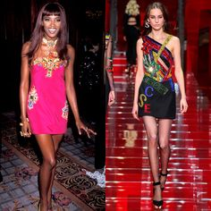 Still+Chic+After+All+These+Years:+Versace+Then+And+Now