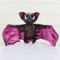 Wish | 18cm Bat Hotel Transylvania Plush Toys Dracula Bat Stuffed Animals Plush Dolls Soft Toys Brinquedo Plush Toys (Color: Coffee)