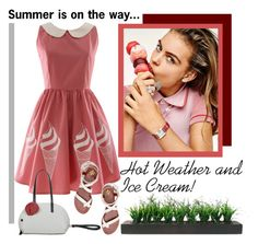 """""""Sweet Summer Days"""" by pixidreams ❤ liked on Polyvore featuring Vintage and Tory Burch"""