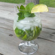 This mojito recipe uses two kinds of mint, making it smooth going down.  ColoradoBackyardGardener.com