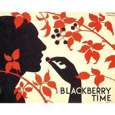 Blackberry time, by Herry Perry, 1931 -