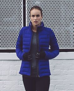 Fluffed Up Jacket | Our ultimate cold-weather running buddy, this jacket holds our music, keeps us warm and is so light, it won't weigh us down.