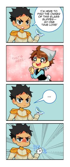 electricprince:  Prince Iwaizumi searches for his one true love!!