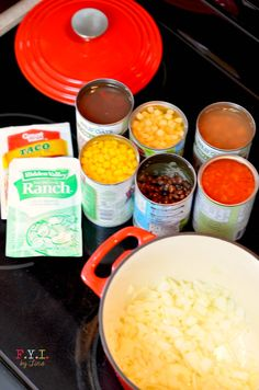 I like to use organic veggies in my Santa Fe Soup. This is the best Santa Fe Soup recipe!