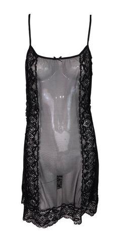 f4162689d8 1990 s Dolce   Gabbana Sheer Black Mesh   Lace Mini Slip Dress