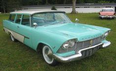 1957 Plymouth Suburban 2dr wagon