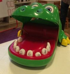 Can this children's game be a lesson on data, statistics, and patterns? Read this blog post and see how Crocodile Dentist can lead your kindergarten kids into a math investigation!