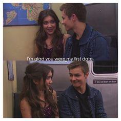 "#GirlMeetsWorld 1x20 ""Girl Meets First Date"" - Riley and Lucas"