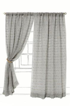 Anthropologie curtains for less