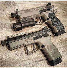 Simply the finest men's jewelry made. Tactical Shotgun, Tactical Gear, Tactical Firearms, Weapons Guns, Guns And Ammo, Cz Po7, Tac Gear, Military Guns, Cool Guns