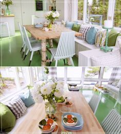 Sarah's Cottage Rental - Living Room After (photo courtesy of HGTV Canada)