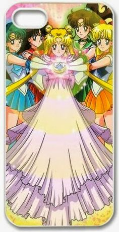 Sailor Moon iPhone 5 Cases and Covers | Beautiful iPhone Covers and Cases for Girls