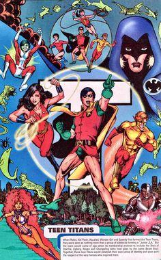 Teen Titans art by Phil Jimenez