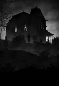 • Psycho • (1960) ~ artwork by Marko Manev