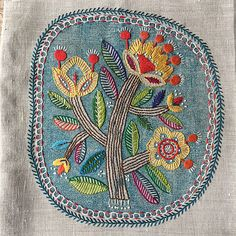 hand embroidery patterns for quilts Hand Embroidery Stitches, Embroidery Needles, Hand Embroidery Designs, Embroidery Applique, Floral Embroidery, Cross Stitch Embroidery, Motif Mandala Crochet, Bordado Floral, Stitch Witchery