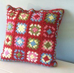 Crochet cushion by TaylorandMorris on Etsy