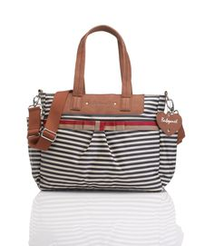 74f958a0a91a Babymel cara stripe navy changing bag