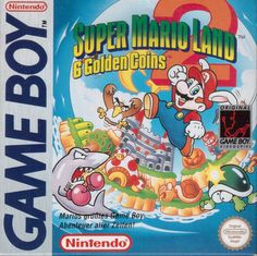 Super Mario Land 2: 6 Golden Coins - Game Boy Box