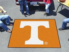 Tennessee Tailgater Rug 5'x6'