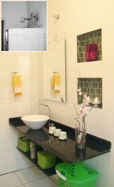 10 antes e depois de banheiros, cozinhas, jardins, quartos... - Casa