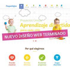 Nada me gusta más que enseñaros una web terminada 🥰:  Bueno sí, trabajar en este tipo de proyectos únicos, divertidos y con tanta personalidad. Una web llena de color, cómoda de usar y con todo lo que necesitan las familias de una escuela infantil como @eipequenajos .  Muchísimas gracias por confiar en mí ☺️  #escuelainfantil #negociosvaldemoro #diseñowebespaña  #paginasweb #tiendaonline #comerciodeproximidad  #autonomosespaña #pymesespaña #comerciolocal #seo  #marketing #autonomos… Marketing, Color, Thank You So Much, Families, Personality, Design Web, Learning, School, Hilarious