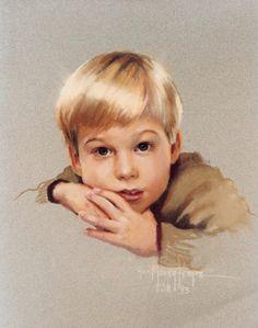 Brian (pastel) ... Ann Manry Kenyon