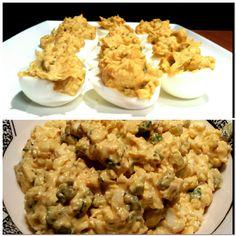 Gevulde eieren & Eiersalade