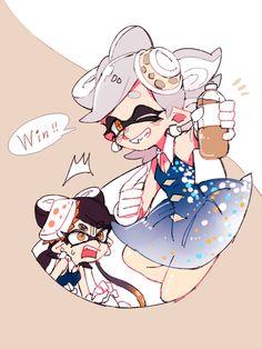 「イカ詰め【1】」/「じくの」の漫画 [pixiv] #SquidSisters #Callie #Marie