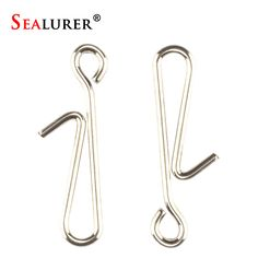 50Pcs/Lot Stainless Steel Hanging Snap Tackle Tools connector fishing Accessories tackle fishhooks 1# 2# 3#-in Fishing Tackle Boxes from Sports & Entertainment on Aliexpress.com | Alibaba Group