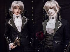 Soom R. Hyperon in normal and white resins at Dollism Plus USA 2014