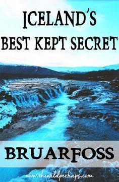 Bruarfoss I Iceland Waterfalls I Golden Circle Iceland I Iceland Ring Road I Bruarfoss Iceland I Best Waterfalls in Iceland I Hidden Iceland Gems I Gullfoss Iceland I Beautiful Waterfalls