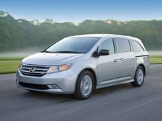The Odyssey is no exception. It's quick. It's nimble. It's a van like no other.Expect nothing less than a smooth, quiet ride in the Honda Odyssey, which offers an easy low-speed steering effort and a confident feel on the highway Honda Odyssey Reviews, Honda Odyssey Touring Elite, 2011 Honda Odyssey, Car Activities, Car Buying Guide, Best Family Cars, Chrysler Pacifica, Van For Sale, Cool Vans