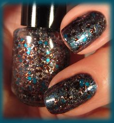Nail PolishInto the Void Full Size Big 3 Free by BlackSheepLacquer, $9.00