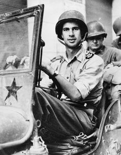 John Hersey, AP American author and Time magazine correspondent during WWII shown driving a U. Army Jeep in Hiroshima, The New Yorker, Bbc News, Jeep Images, Go To Japan, Fiction And Nonfiction, What The World, Time Magazine, Famous Men