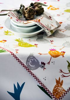 Dining-room – GUDRUN SJÖDÉN – Webshop, mail order and boutiques | Colorful clothes and home textiles in natural materials.