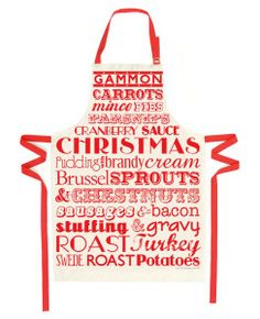 Christmas Dinner Apron - Victoria Eggs - Blix Magazine