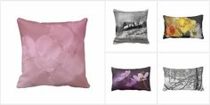 """Throw Pillow Collection"" by Kay Novy (kkphoto1).  #pillows #pillow #throw #floral #nature #landscape #photography #KayNovy #kkphoto1"