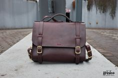 Weles One leather satchel / bag with photo insert Leather Satchel, Leather Bags, Satchel Bag, Thick Leather, Street Photographers, How Train Your Dragon, Messenger Bag, My Design, Httyd