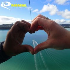 Love is in the air with Bay of Islands Parasail
