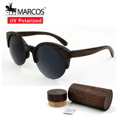 $40.50 (Buy here: https://alitems.com/g/1e8d114494ebda23ff8b16525dc3e8/?i=5&ulp=https%3A%2F%2Fwww.aliexpress.com%2Fitem%2FSemi-Riless-wood-bamboo-sunglasses-BLACK-MS062%2F32690762463.html ) gafas de sol hawkers semi frame round vintage sunglasses for women wood bamboo glasses carter buffalo horn glasses polarized for just $40.50