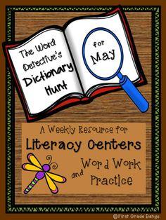 http://www.teacherspayteachers.com/Store/First-Grade-Bangs Easy Literacy Center!