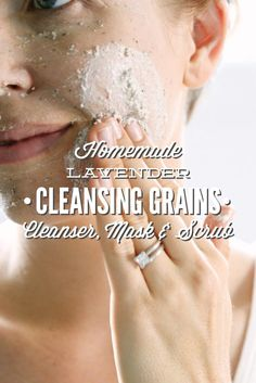 Love this! A 3-in-1 facial cleanser that's easy to make and gentle on the skin.