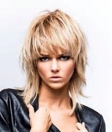 Image result for Rocker Chic Shag Haircuts