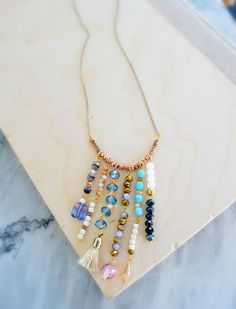 Boho Chic Statement Necklace | don't miss out on even more bohemian jewelry with this gorgeous statement necklace!
