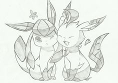 Glaceon  Leafeon by SoulEater29 on deviantART