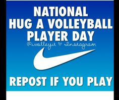 Repost if you play!<---- I'm a volleyball player. I didn't know there was such a thing lol