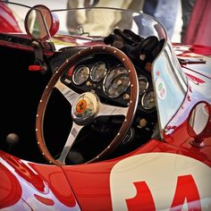 Richard Frankel's 1955 Ferrari 750 Monza No. 14 photo from flickr by rookdave