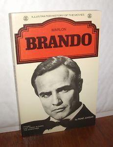 """Marlon Brando (Illustrated History of the Movies)"" av Rene Jordon Marlon Brando, History, Reading, Illustration, Books, Cards, Movies, Historia, Libros"